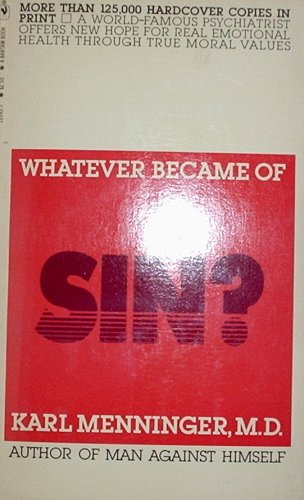 9780553135930: Whatever Became of Sin?