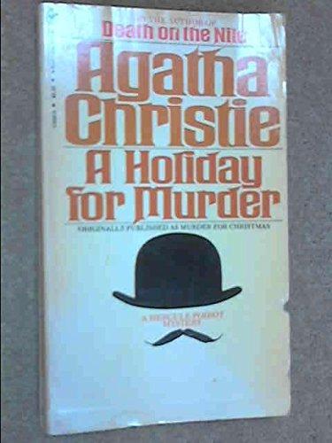 A Holiday For Murder By Agatha Christie A Bantam Book Int