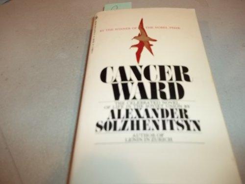 9780553137200: Cancer Ward