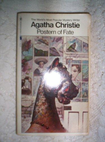 POSTERN OF FATE: Agatha Christie; Illustrator-Tom