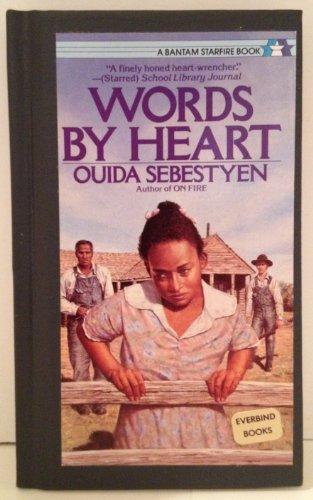 Words by Heart (Bantam Book): Sebestyen, Ouida