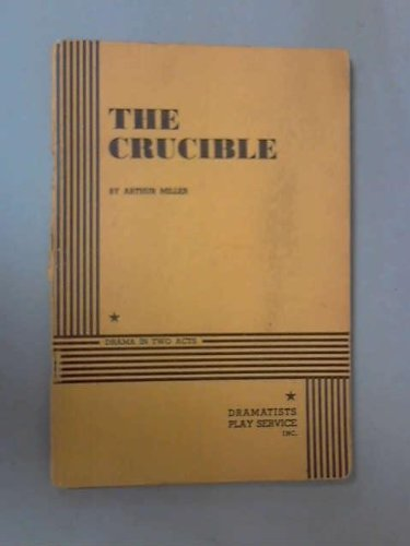 a comparison of the crucible by arthur miller and diving for pearls by katherine thomson