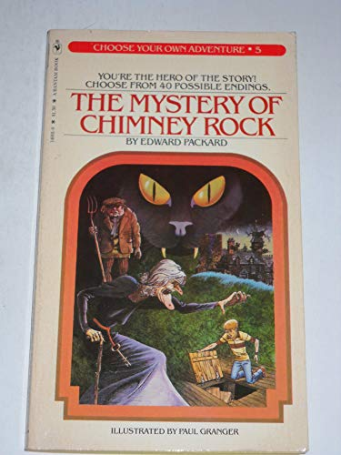 9780553140019: The Mystery of Chimney Rock (Choose Your Own Adventure #5)