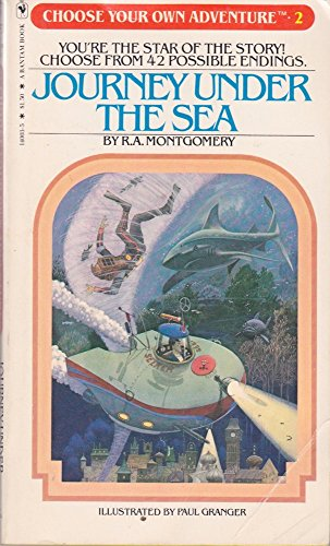 9780553140033: Journey Under the Sea (Choose Your Own Adventure 2)