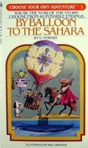 9780553140057: By Balloon to the Sahara (Choose Your Own Adventure #3)