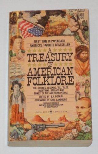 9780553141498: Treasury of American Folklore