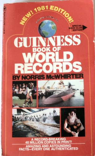 Guinness Book of World Records - 19th Edition: McWhirter, Norris (editor)