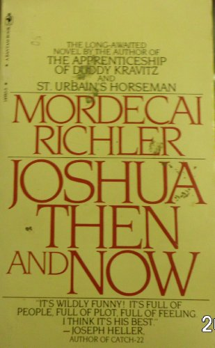 Joshua Then and Now (0553145835) by Richler, Mordecai