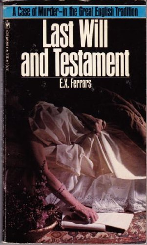 9780553147957: Last Will and Testament