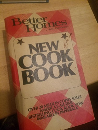 Better Homes and Gardens New Cookbook: Unknown