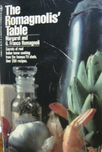 9780553149265: The Romagnolis' Table