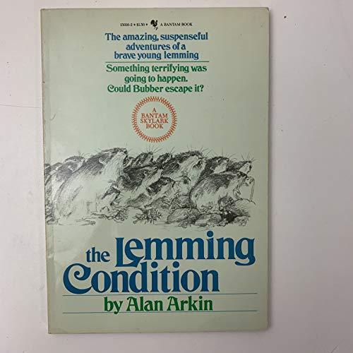9780553150162: The lemming condition (A Bantam skylark book)