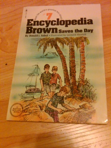 9780553150391: Encyclopedia Brown saves the day (America's Sherlock Holmes in sneakers)