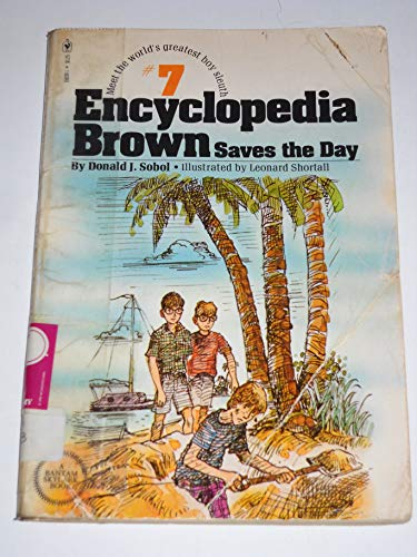 9780553150391: Encyclopedia Brown saves the day (America's Sherlock Holmes in sneakers)