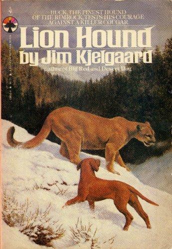 Lion Hound (1980 Softcover 5 1/4 x: Kjelgaard, Jim
