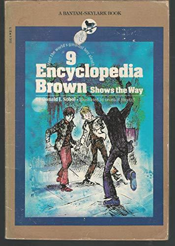 9780553151428: Encyclopedia Brown Shows the Way (America's Sherlock Holmes in Sneakers)
