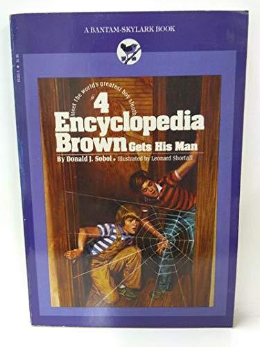 9780553151831: Encyclopedia Brown Gets His Man (Encyclopedia Brown (Paperback))