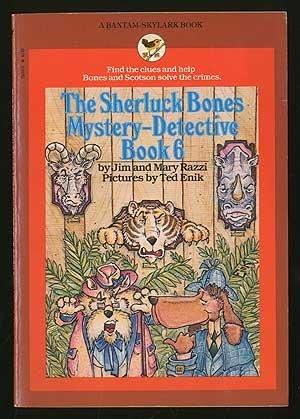 9780553152401: The Sherluck Bones Mystery-Detective Book 6