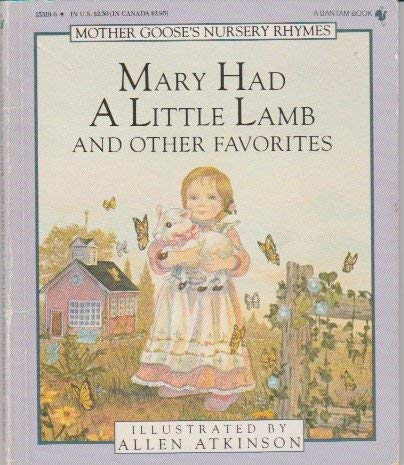 MARY/LITTLE LAMB/ (Mother Goose) (0553153196) by Atkinson, Allen