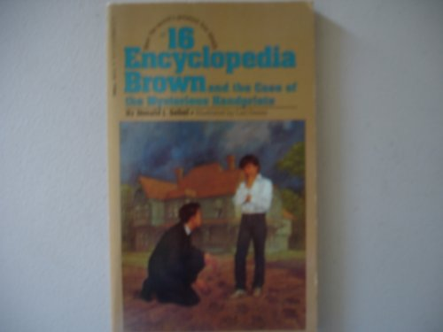 9780553153521: Encyclopedia Brown and the Case of the Mysterious Handprints