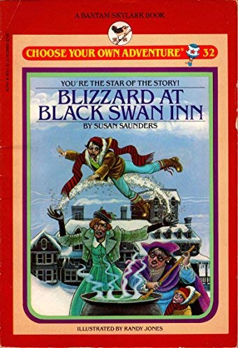 9780553153798: BLIZZARD/BLACK SWAN/ (Choose Your Own Adventure)