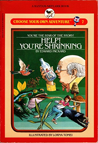 9780553155327: Help! You're Shrinking (Choose Your Own Adventure)