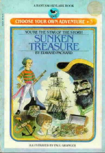 9780553156034: The Sunken Treasure (Choose Your Own Adventure)