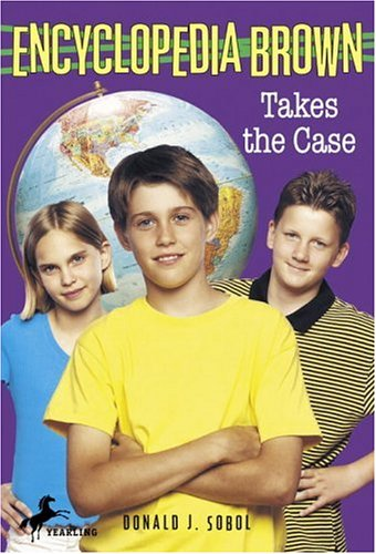 9780553157239: Encyclopedia Brown Takes the Case