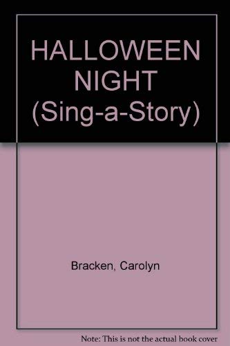 9780553157574: Halloween Night (Sing-a-Story)