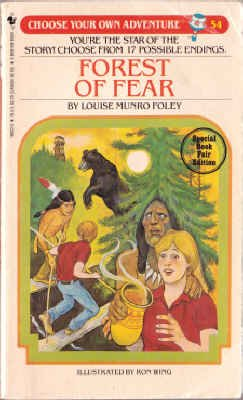 9780553166224: Forest of Fear (Choose Your Own Adventure, 54)