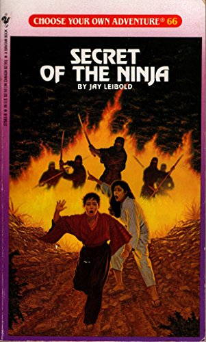 9780553168587: Secret of the Ninja (Choose Your Own Adventure #66)
