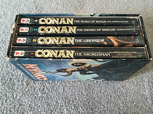 The Fantastic New Adventures of Conan (Vol. 1-4) (0553186205) by Andrew Offutt; Bjorn Nyberg; Karl Edward Wagner; L. Spague De Camp; Lin Carter