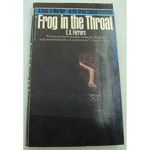 9780553200409: Frog in the Throat