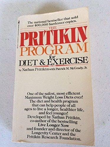 9780553201345: The Pritikin Program For Diet & Exercise.