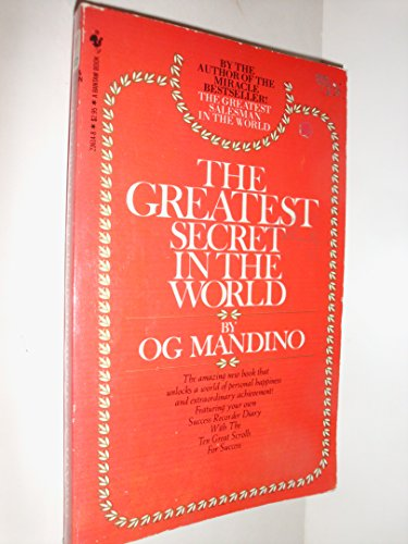 9780553201437: Greatest Secret In the World