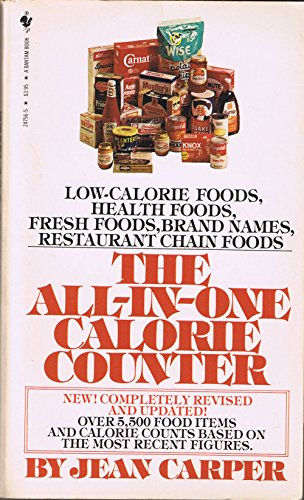 9780553203394: The All-in-One Calorie Counter