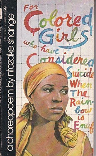 For Colored Girls Considered by Shange, First Edition - AbeBooks