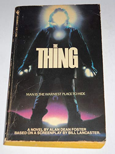 The Thing 1st 1st Signed & Dated Alan dean Foster