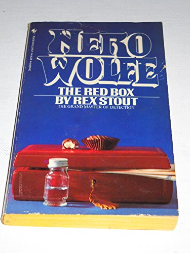 9780553204896: The Red Box: A Nero Wolfe Novel