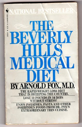 9780553205282: The Beverly Hills Medical Diet