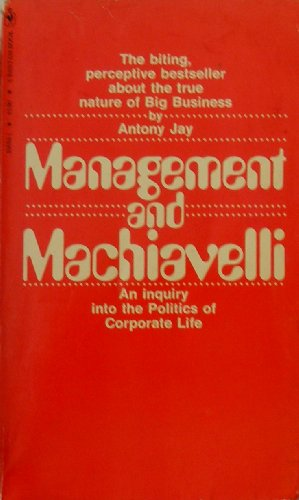 9780553206593: Management and Machiavelli