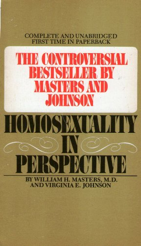 9780553208092: Homosexuality in Perspective