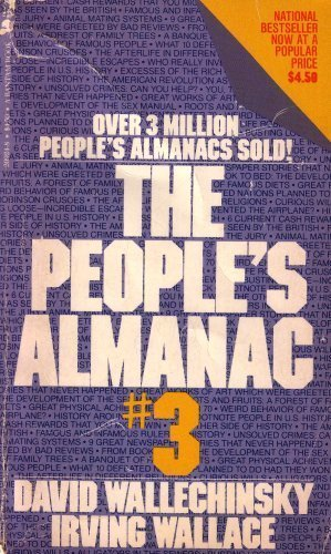 The People's Almanac #3: Wallechinsky, David; Wallace, Irving