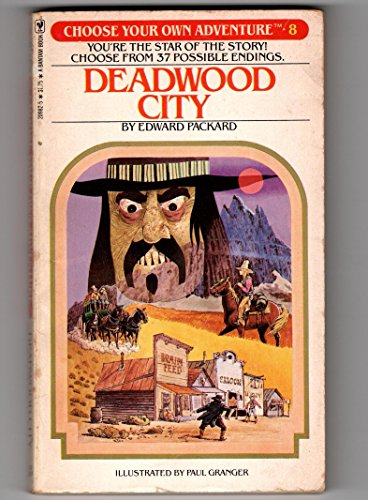 9780553209822: Deadwood City (Choose Your Own Adventure #8)