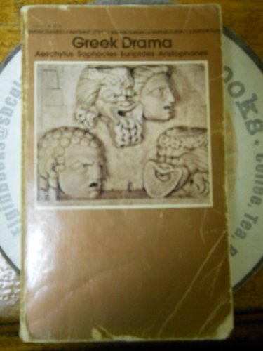9780553210958: Greek Drama (Classics) (Greek and English Edition)