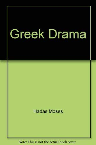 9780553211511: Greek Drama
