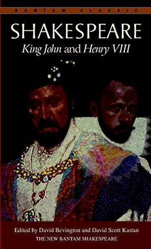 9780553212860: King John and Henry VIII (Bantam Classic)