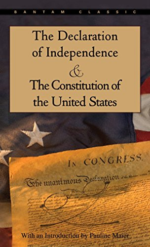 9780553214826: The Declaration of Independence and The Constitution of the United States