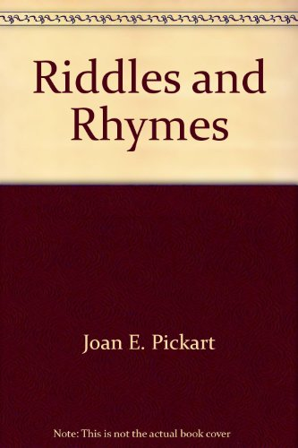 Riddles and Rhymes (Loveswept #317): Pickart, Joan Elliot