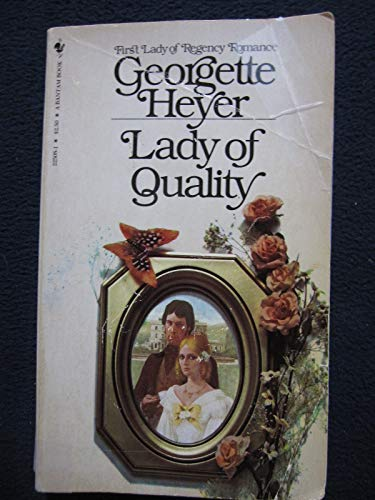 9780553225082: Lady of Quality